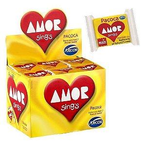 Paçoca Amor com 30 unidades de 18g - Arcor