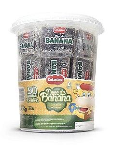Doce de Banana com 50 unidades de 22g (pote 1,1kg) - Gulosina