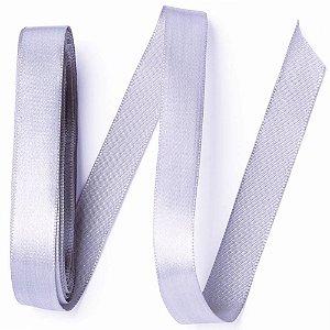 Fita de Cetim Prata Número 3 (15mmx10m) - Carber
