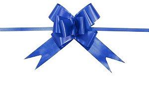 Laço pronto azul 2,3x42cm com 10 unidades - Carber