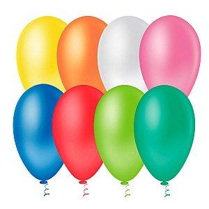 Balão bexiga nº 9 c/ 50 unidade - Artlatex (selecione a cor)