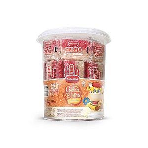 Geleia De Frutas Pote 50 unidades de 22g ( Pote 1,1kg) - Gulosina