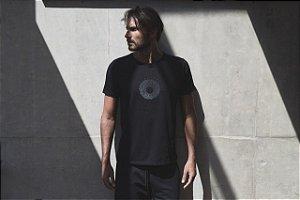 Camiseta Masculina Cassete Completo Preto - Sense