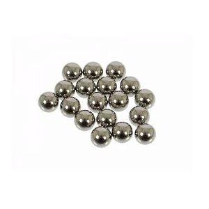 Esferas de Aço p/ Reposição de Cubo 1/4 18 Peças - Shimano