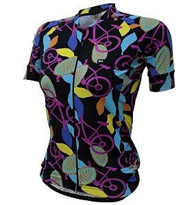 Camisa Feminina Funny Premium Bike Pink - Márcio May