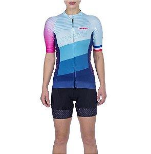 Camisa Ciclismo Supreme France Feminina - Woom