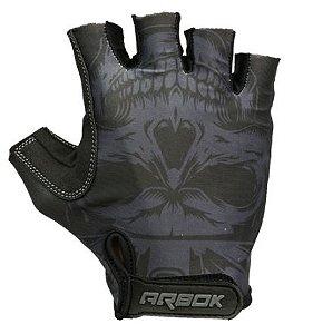 Luva Dedo Curto Dark Preta c/ Velcro - Arbok