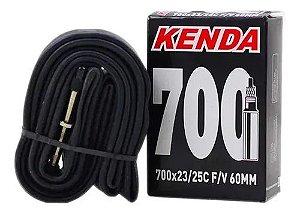 Câmara De Ar 700x23/25 Válvula Presta 60mm - Kenda