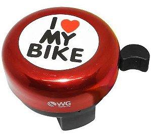Buzina Trim Trim I Love My Bike - WG Sports