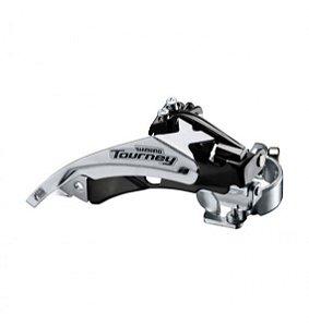 Câmbio Dianteiro Tourney FD-TY500 p/ 42D 34.9mm Top Swing - Shimano