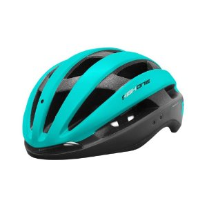 Capacete High One Bike MTB/Speed Wind Aero Preto c/ Azul