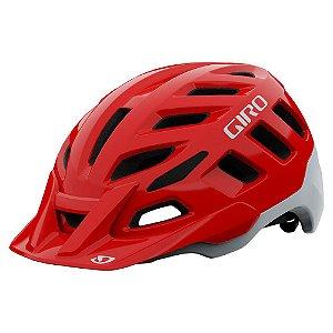 Capacete Giro Radix Vermelho Com Branco (tam: M 55-59)