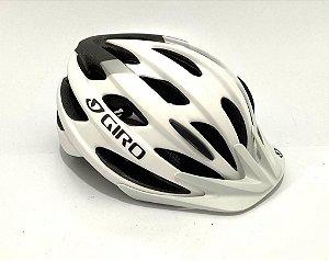 Capacete Giro Revel Branco Com Cinza (tam: U 54-61)