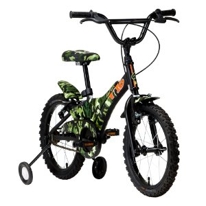 Bicicleta Infantil Groove T16 Verde Camuflado