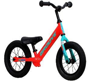 Bicicleta Infantil Groove Balance Laranja/verde