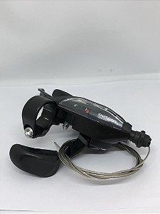 Alavanca Câmbio/Freio ST-EF500 EZ Fire para V-Brake 2v Esquerdo Preto - Shimano