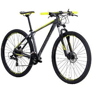 Mountain Bike Groove Hype 50 Grafite/Amarelo/Preto - 2021