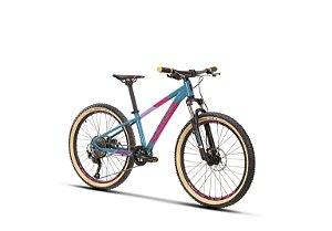 Bicicleta Infantil Sense Grom 24 Azul/Rosa - 2021/2022