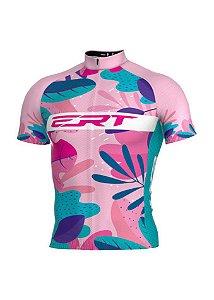 Camisa Classic Floral Rosa - ERT