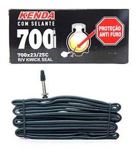 Câmara Kwick Seal 700x23/25, Presta 60mm - Kenda