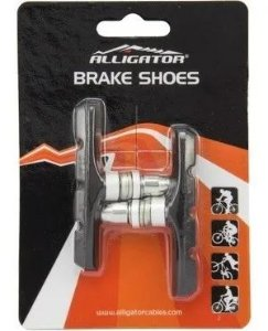 Sapata Para Freios V-Brake Preto - Alligator