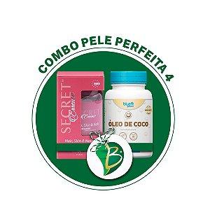 COMBO PELE PERFEITA 4 - SECRET ESSENCE HAIR, SKIN & NAILS + ÓLEO DE COCO