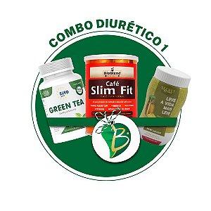 COMBO DIURÉTICO 1 - SECRET DRINK AQUALESS + CAFÉ SLIM FIT + CAFÉ THERMO ENERGY