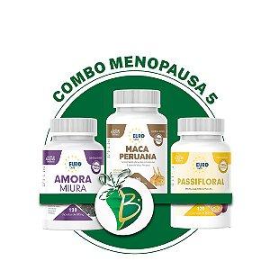 COMBO MENOPAUSA 5 - AMORA MIURA + MACA PERUANA + PASSIFLORAL