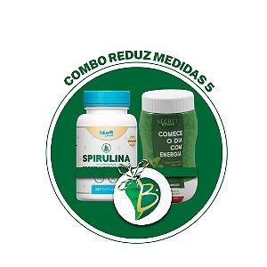 COMBO REDUZ MEDIDAS 5 - SPIRULINA + SECRET DRINK COMPLETE