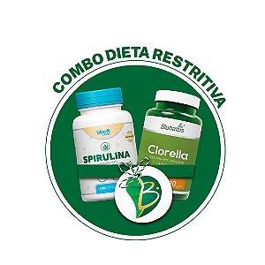 COMBO DIETA RESTRITIVA - SPIRULINA + CLORELLA