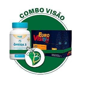 COMBO VISÃO - EUROVISION PRO + ÔMEGA 3