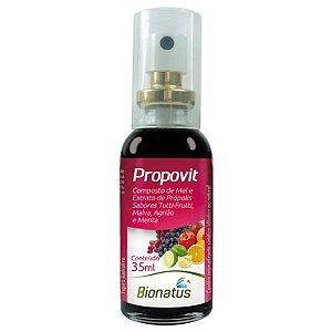 Spray Própolis Sabor Tutti-Frutti Propovit - 35ml