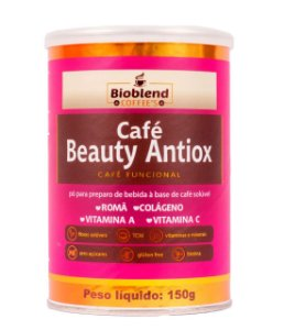 CAFÉ BEAUTY ANTIOX BIOBLEND 150G