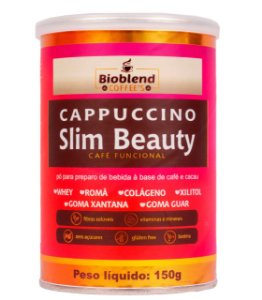 CAPPUCCINO SLIM BEAUTY BIOBLEND 150G