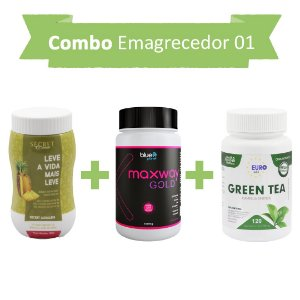 Emagrecedores! Secret Drink Aqualess + Maxway Gold +Green Tea