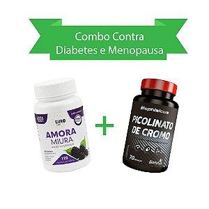Contra Diabetes e Menopausa! Amora Miura + Picolinato de Cromo