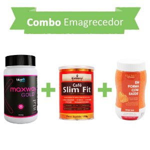 Emagrecedores! Maxway Gold + Café Slim Fit + Secret Drink Slim
