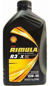 OLEO LUBR.SHELL RIMULA R3 15W40 C/01LT