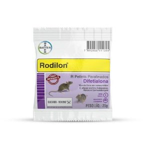 RATICIDA RODILON C/25GR      *