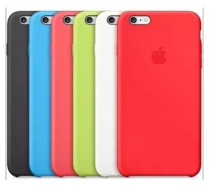 Capa Silicone iPhone 5/se/6/7/8/x/plus/xr/max + Pelicula 5d