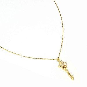 Colar Key Dourado