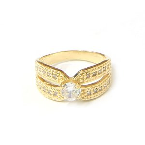 Anel Classique Dourado