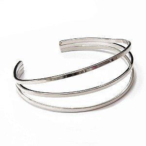 Bracelete Nicola Ródio Branco