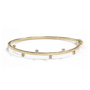 Bracelete Nevada Dourado