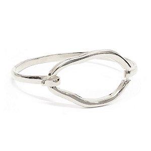 Bracelete Naomi Ródio Branco