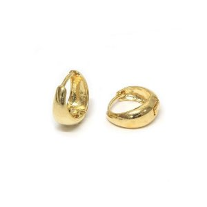 Brinco Argola Basic P Dourado