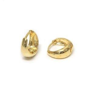 Brinco Argola Basic M Dourado