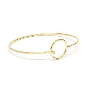 Bracelete Circle Dourado