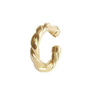 Piercing de Orelha Plat Dourado