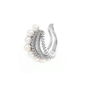 Piercing de Orelha Lia Ródio Branco